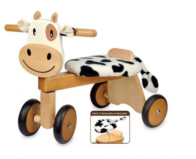 Træ Kalv Køretøj - I'm Toys