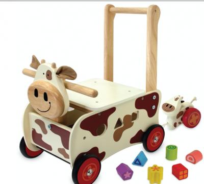 Ko med Kalv gåvogn - I'm Toys