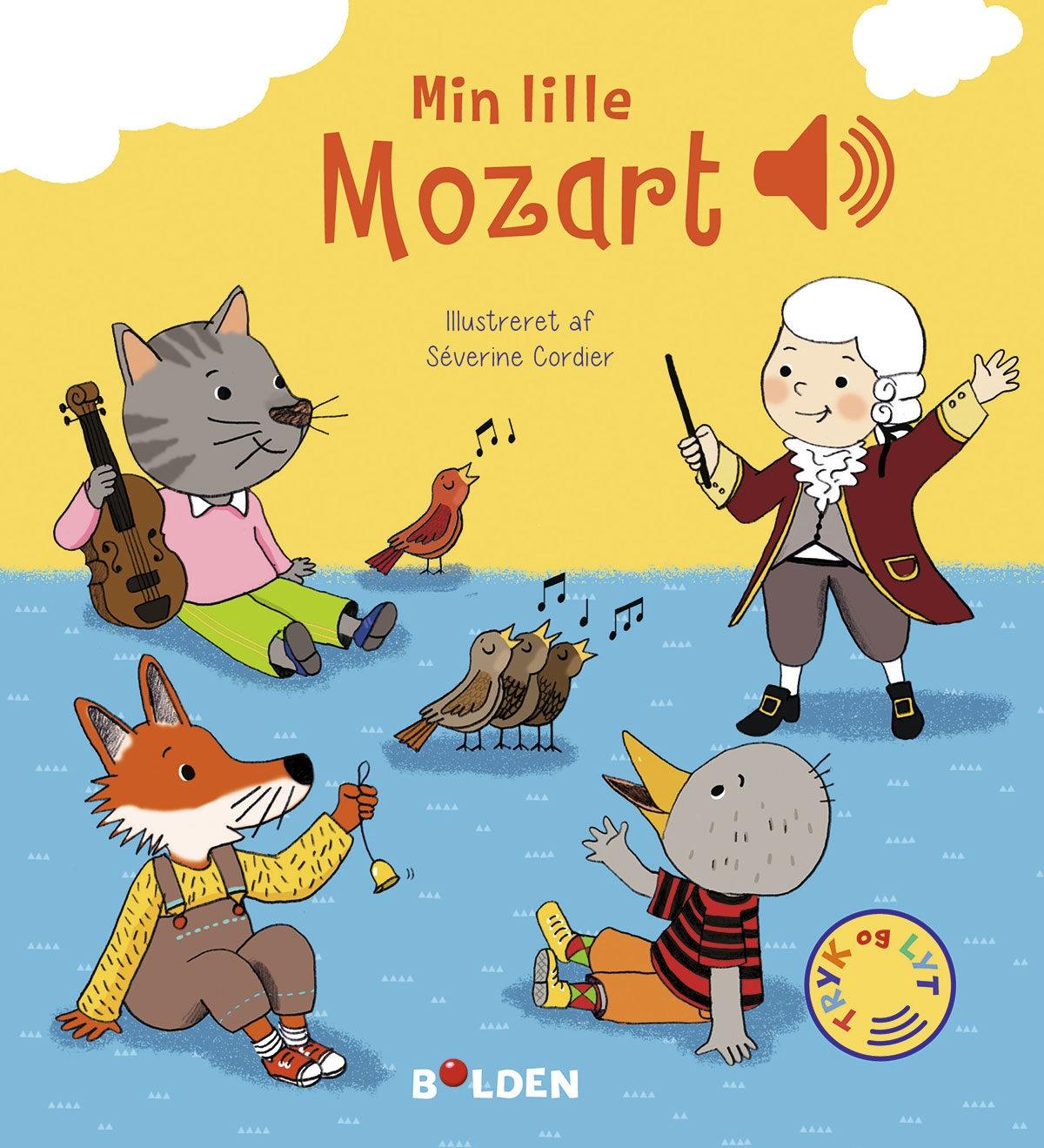 Min lille Mozart – En bog med lyd