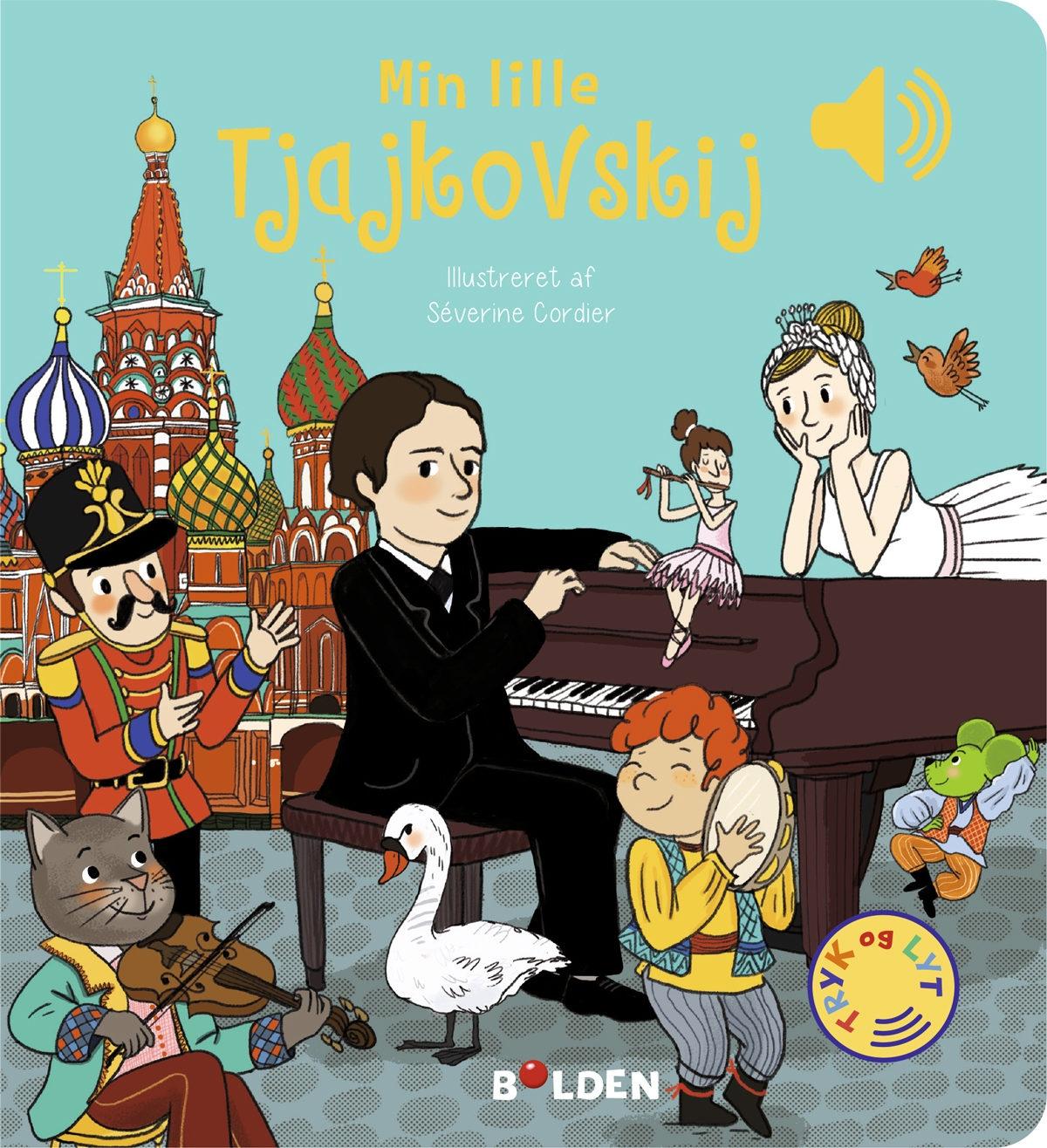 Min lille Tjajkovskij – En bog med lyd