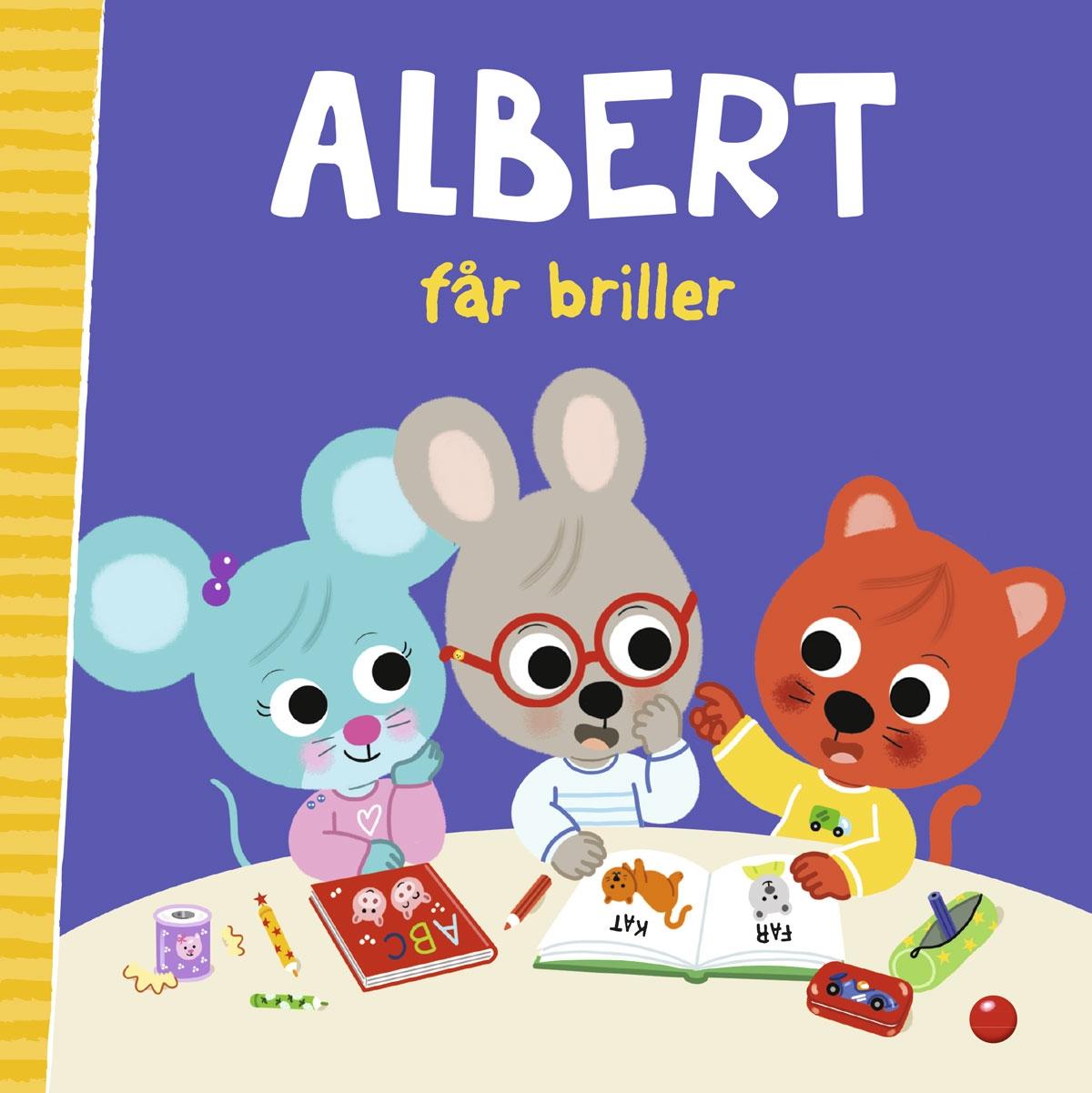 Albert får briller