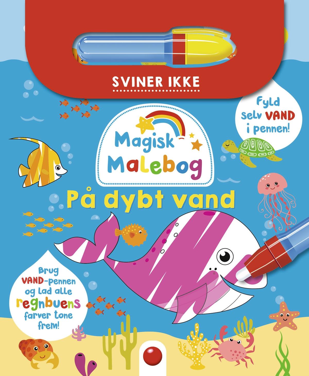 Magisk malebog: På dybt vand