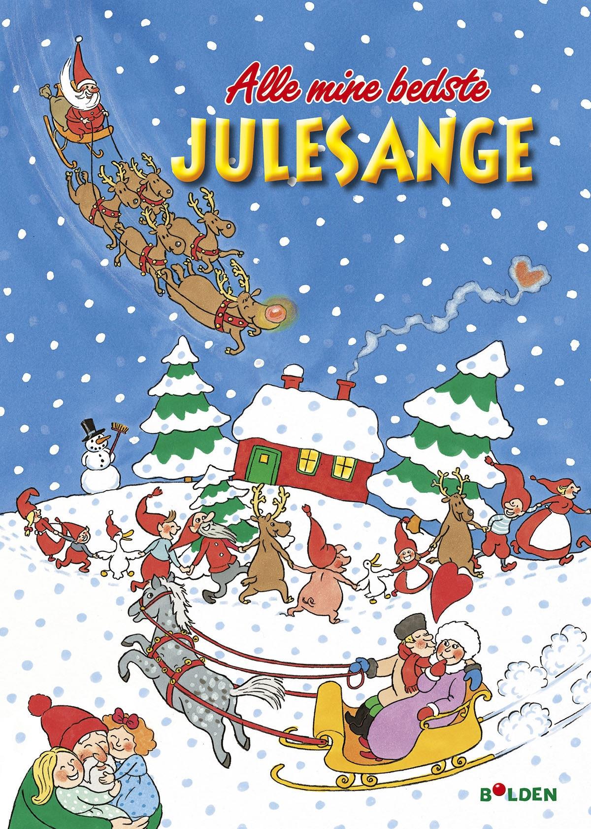 Alle mine bedste julesange – med CD