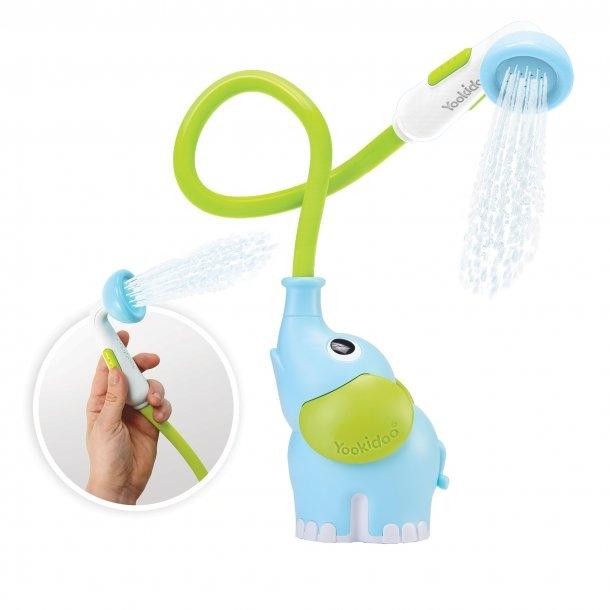Elephant Baby Shower - Blå