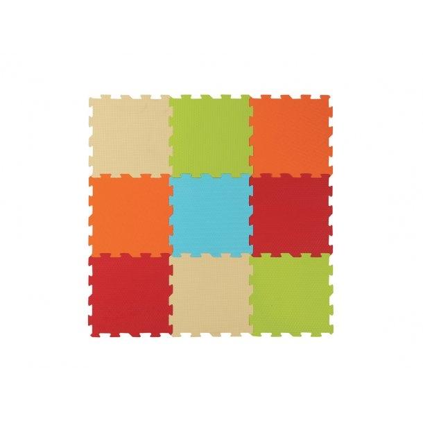 Legemåtte med farver