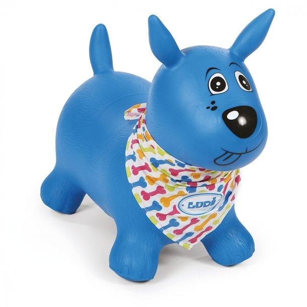 Hoppedyr - Hund, Blå