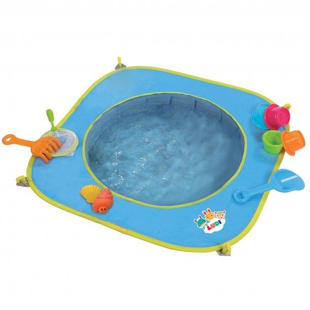 Pop-up bassin til stranden