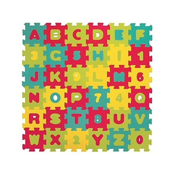 Legemåtte med bogstaver - Lille