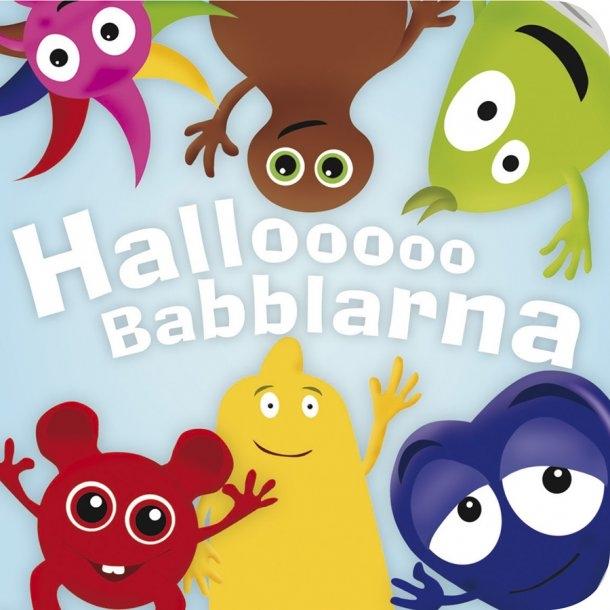 Babblarna - Hallooo Babblarna, Kartonbog