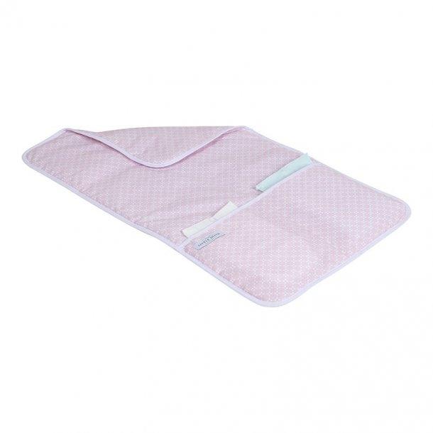 Underlag til bleskift - Lys pink