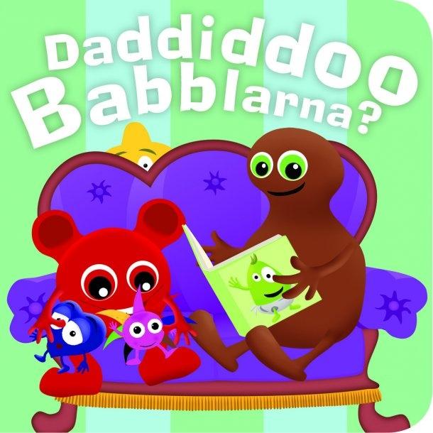 Babblarna - Daddiddoo Babblarna, Kartonbog