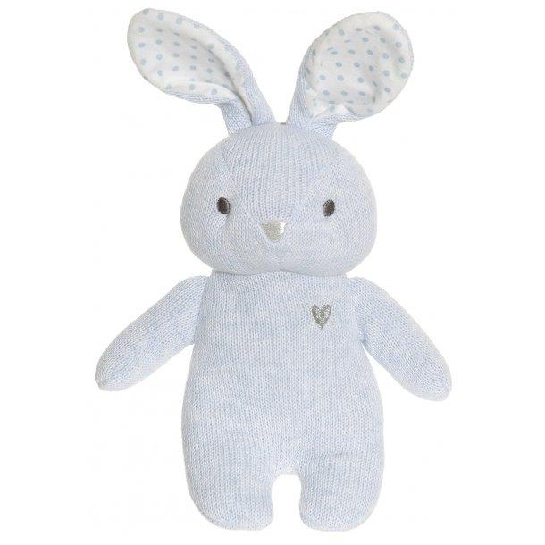 Cozy Knits - Kaninrangle i Blå