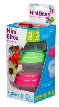 130ml Mini Bites 3 Pack