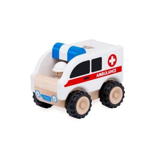 Wonderworld - Mini ambulance bil