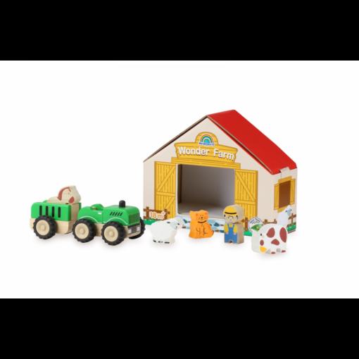 Wonderworld - Traktor med farm